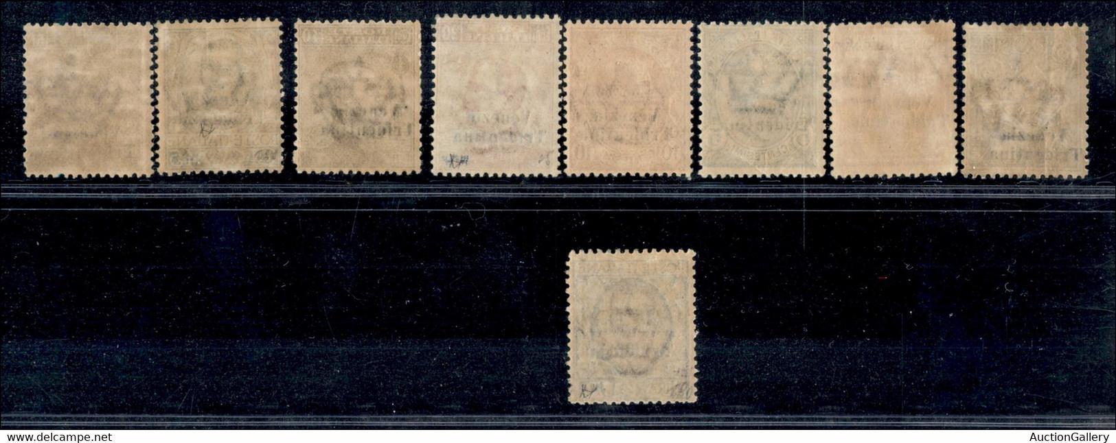 OCCUPAZIONI I GUERRA MONDIALE - TRENTINO-ALTO ADIGE - 1918 - Venezia Tridentina (19/27) - Serie Completa - Gomma Origina - Unclassified