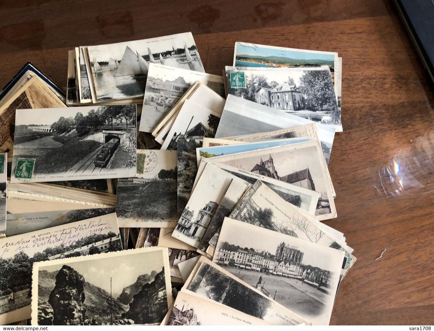 BEAU LOT DE 1180 CARTES, Que Des CPA. Lot Très Intéressant Pour Revendeur Ou Soi Même. VOIR SCAN Et DESCRIPTIF. - 500 Postcards Min.
