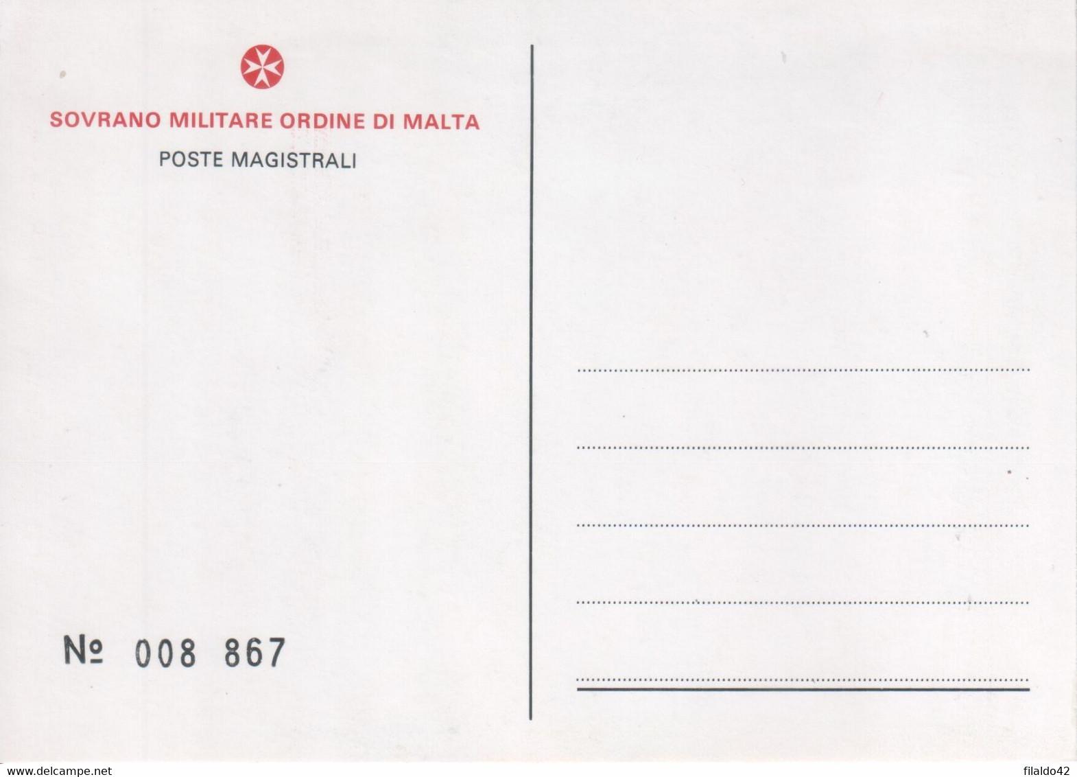 """SMOM - 1981 - Carte Postali - """"Lotta Alla Fame Nel Mondo"""" (Riprod. Su 1 Cart. Del N°197"""" Cat. Unificato) MNH** - Malte (Ordre De)"""
