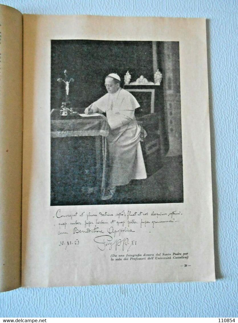Rivista Degli Amici Dell'Università Del Sacro Cuore Di Milano - 1932 - Non Classés
