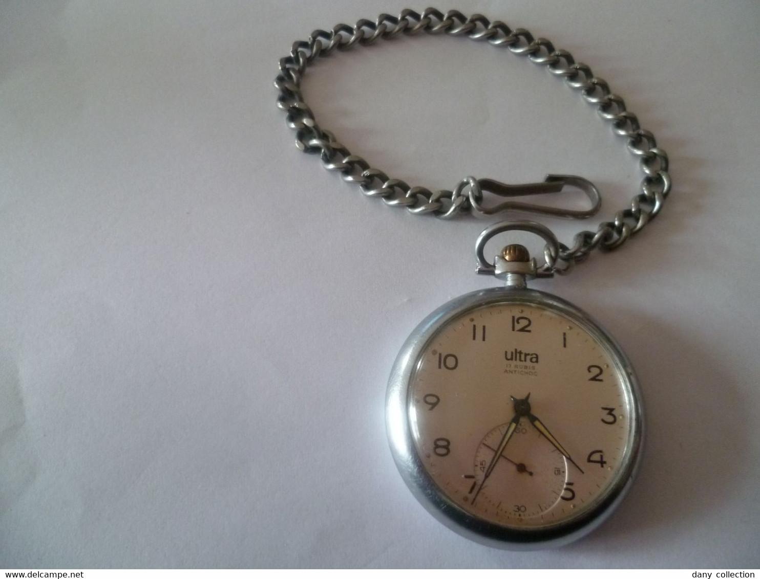 TRES JOLIE MONTRE A GOUSSET FONCTIONNE PARFAITEMENT . - Relojes De Bolsillo