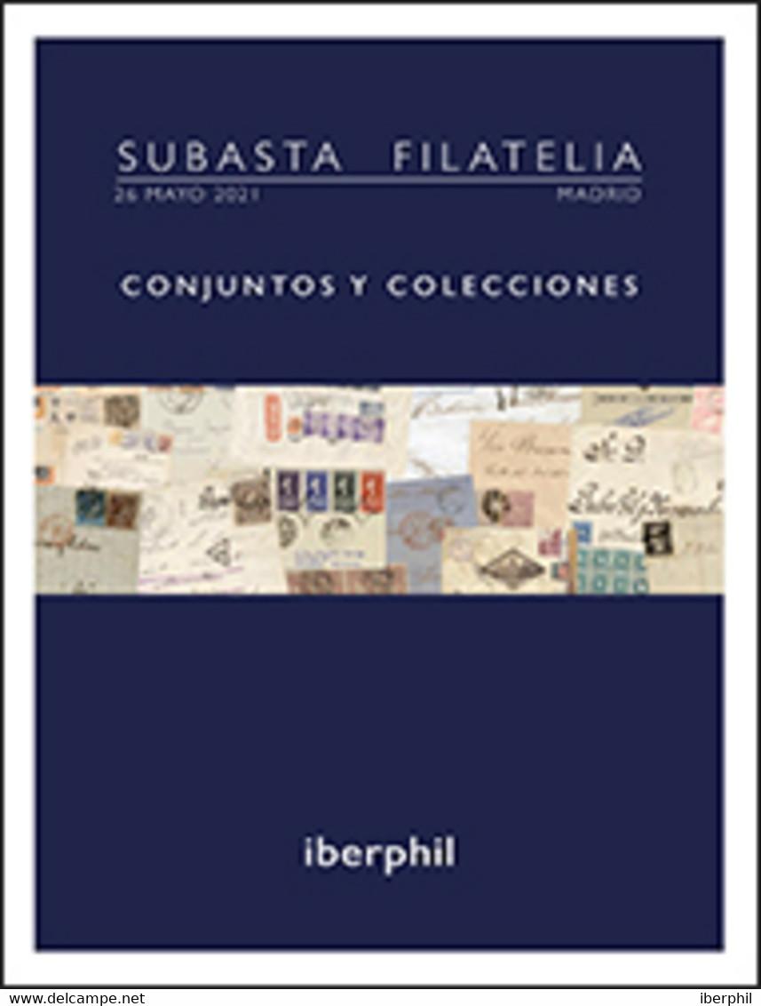 Lotes Y Colecciones.España, Historia Postal.  Sobre. (1868ca). Conjunto De Sesenta Y Cinco Cartas, Tarjetas Postales Y S - Collections (without Album)