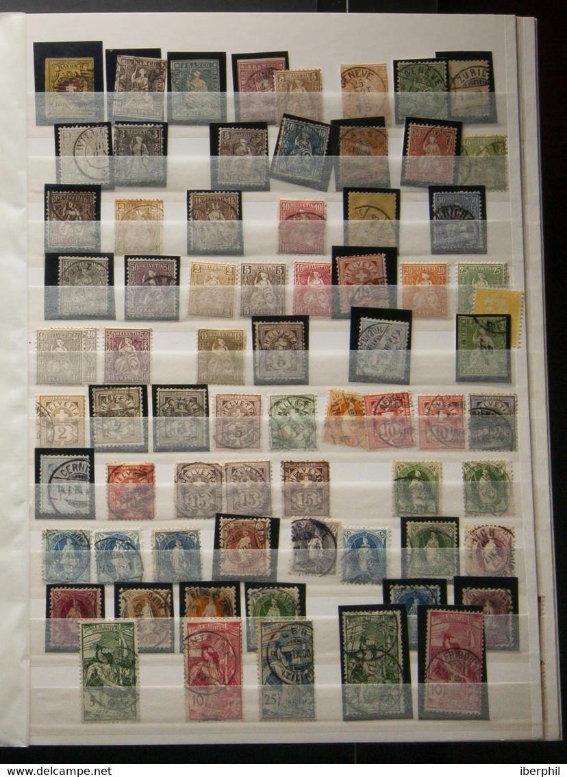 Lotes Y Colecciones.Extranjero.  **/º. (1860ca). Colección De Suiza Entre 1860 Y 2006, En Nuevo Y Usado, Hasta 1995 La M - Verzamelingen (zonder Album)