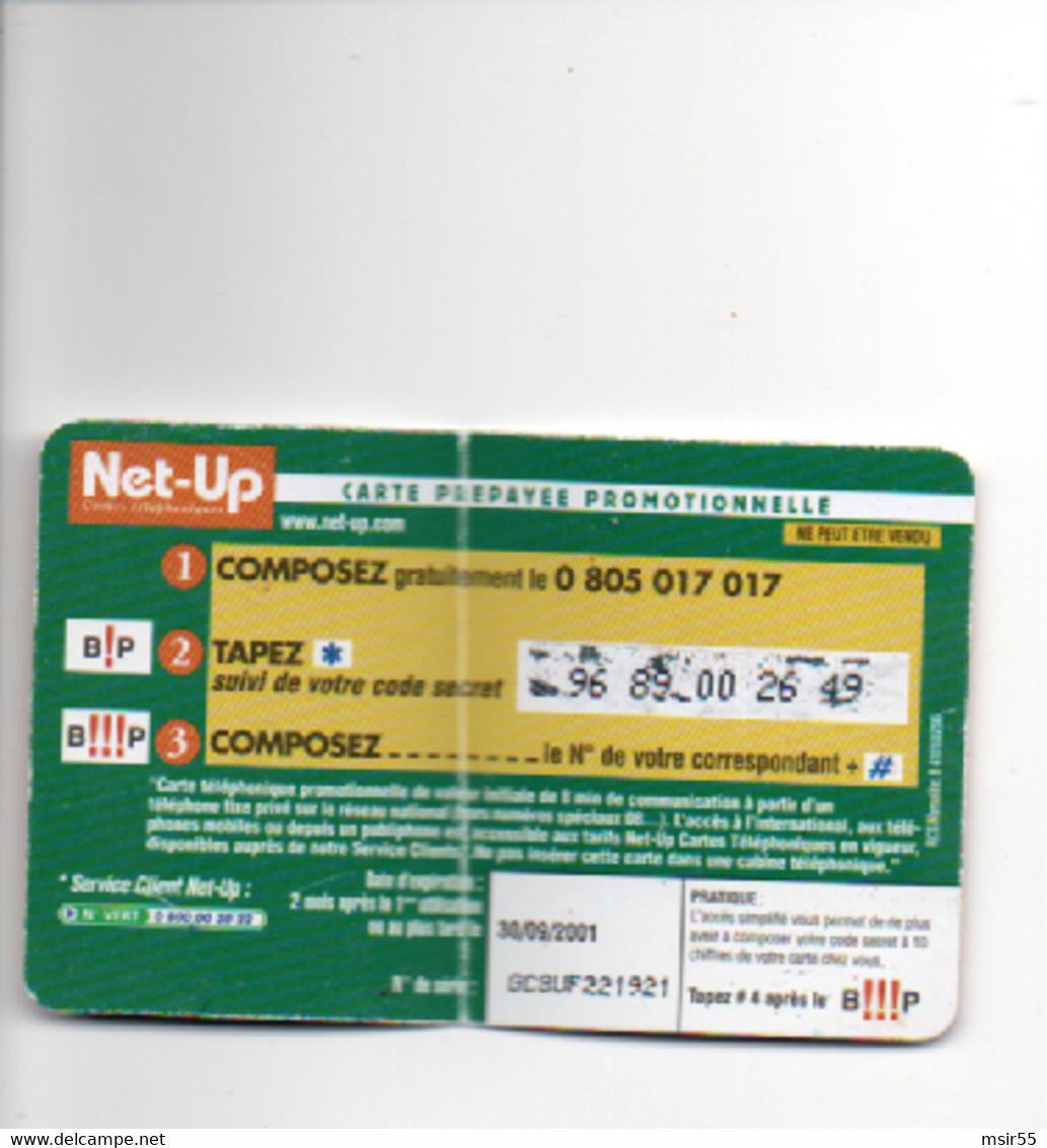 """Carte  De Recharge Téléphonique  - CASINO : Le Grand Jeu : """"Pourquoi Pas Vous  ? """" - 8 Min De Télécommunication -  2001 - Unclassified"""