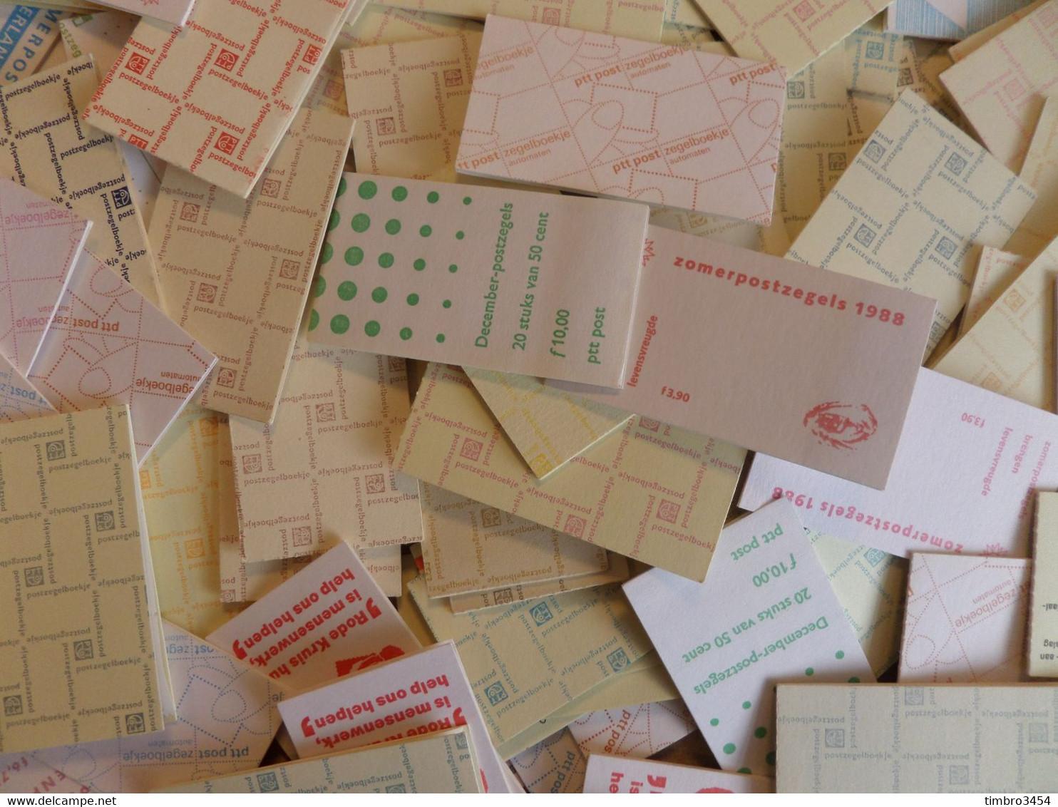Pays-Bas Collection De 173 Carnets Neufs ** MNH Années 1970/1990. Forte Cote! TB. A Saisir! - Postzegelboekjes En Roltandingzegels