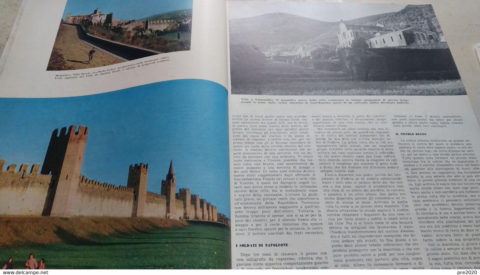 ILLUSTRAZIONE ITALIANA 1956 COLLI EUGANEI MONSELICE MONTEMERLO ARQUA' PETRARCA ESTE - Unclassified