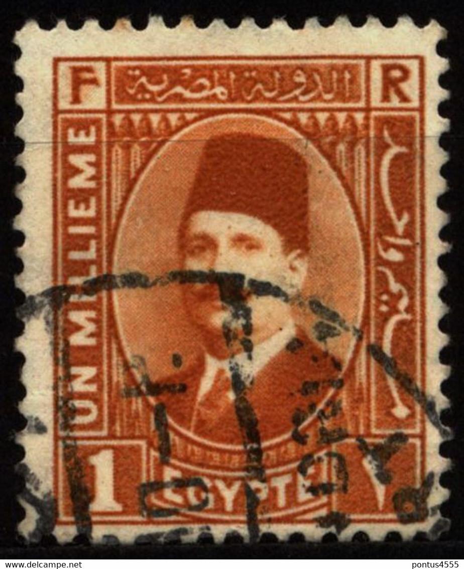Egypt 1927 Mi 119  King Fuad I - Used Stamps