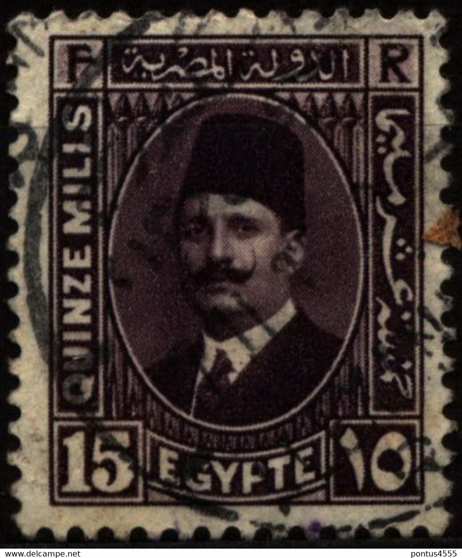 Egypt 1934 Mi 206 King Fuad I - Used Stamps