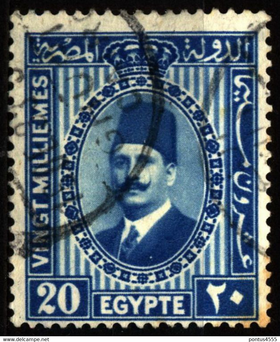Egypt 1934 Mi 207 King Fuad I - Used Stamps