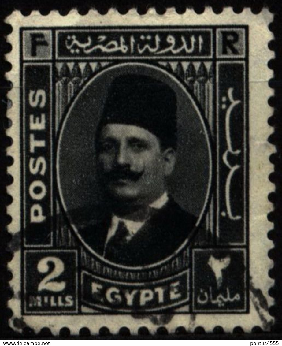 Egypt 1936 Mi 214 King Fuad I - Used Stamps