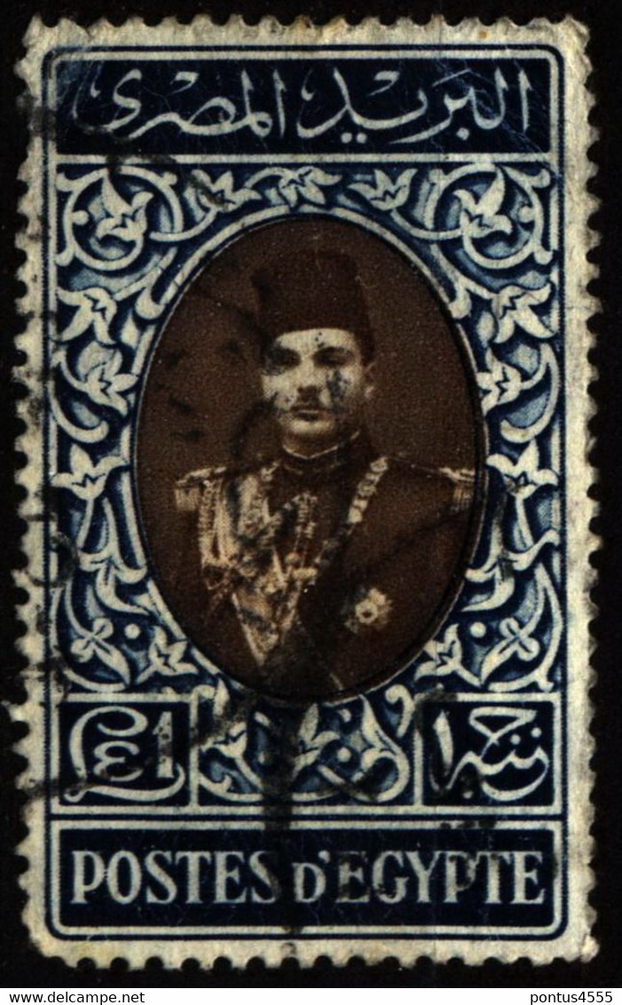Egypt 1939 Mi 259 King Farouk - Used Stamps