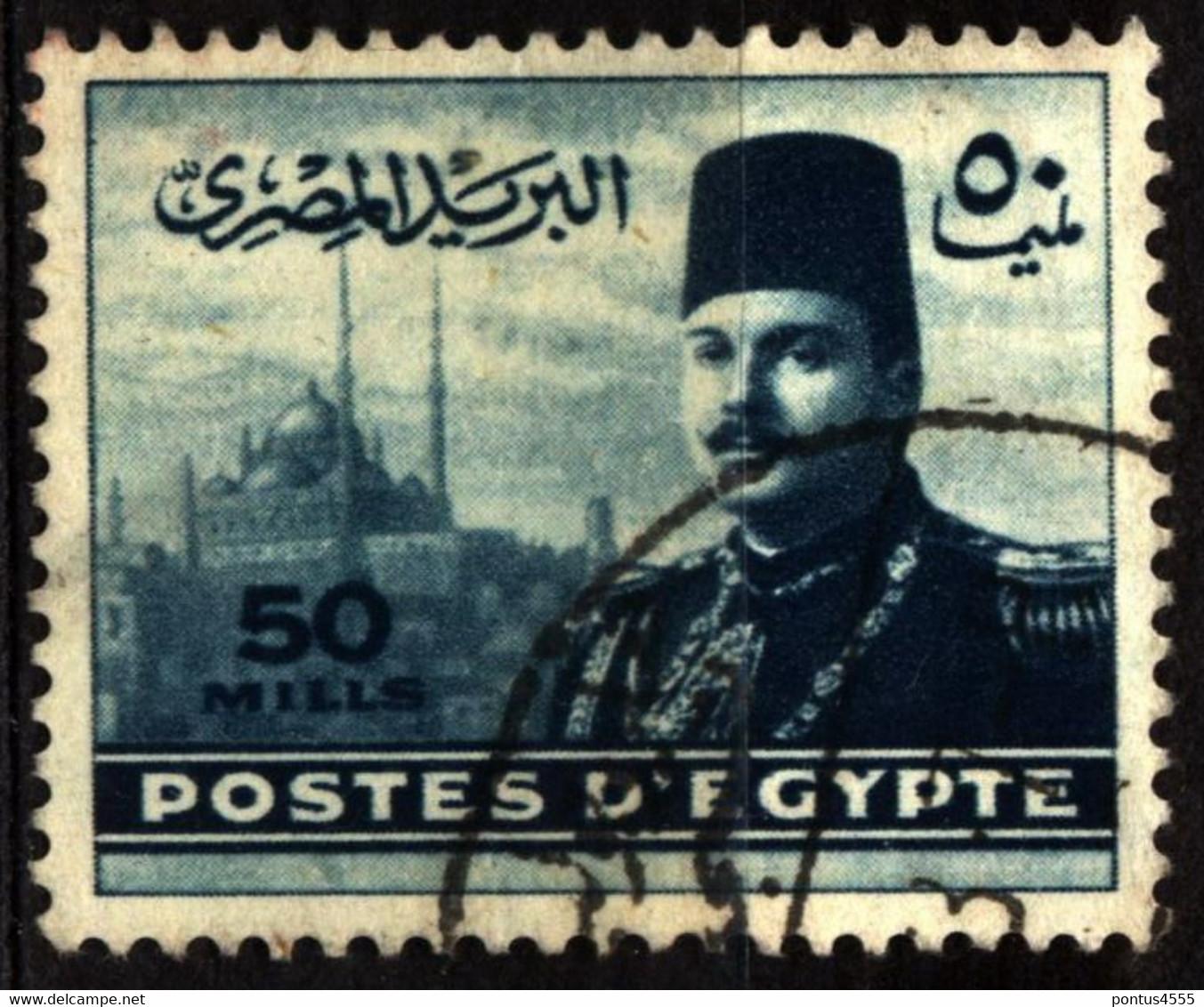 Egypt 1947 Mi 321 King Farouk (1) - Used Stamps