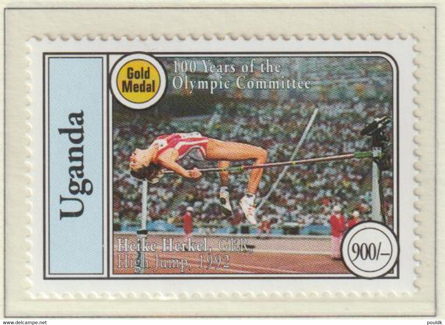 Uganda 1994 IOC Centenary 2 Stamps MNH/** (H56) - Altri