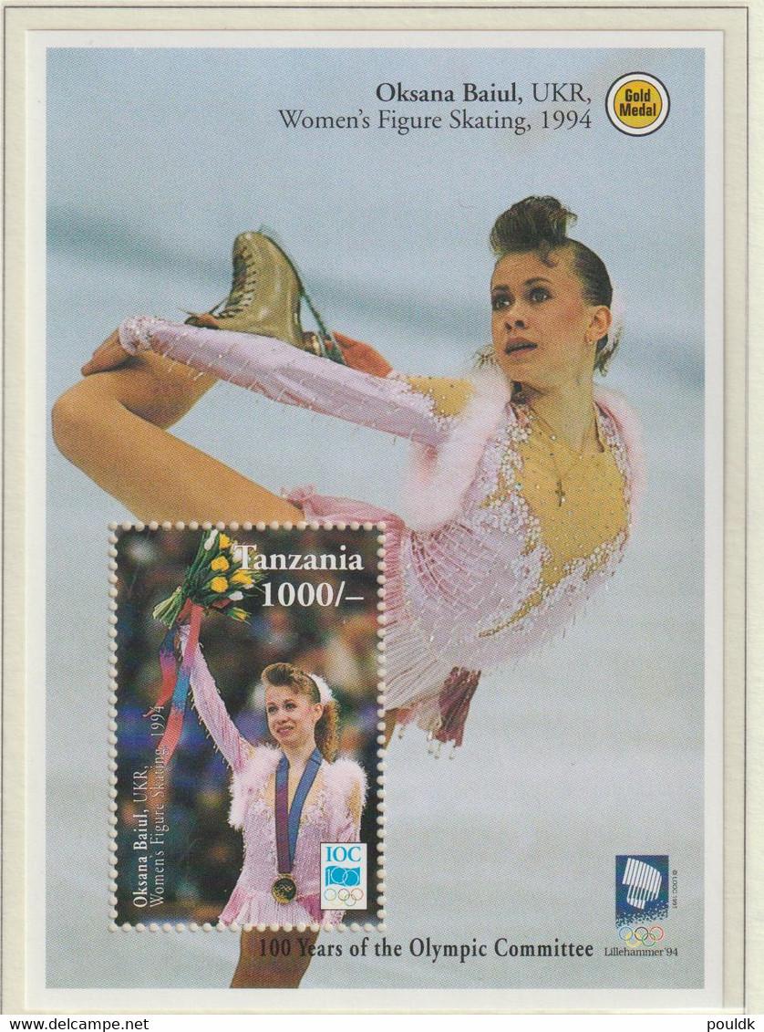 Tanzania 1994 IOC Centenary Souvenir Sheet MNH/** (H56) - Other