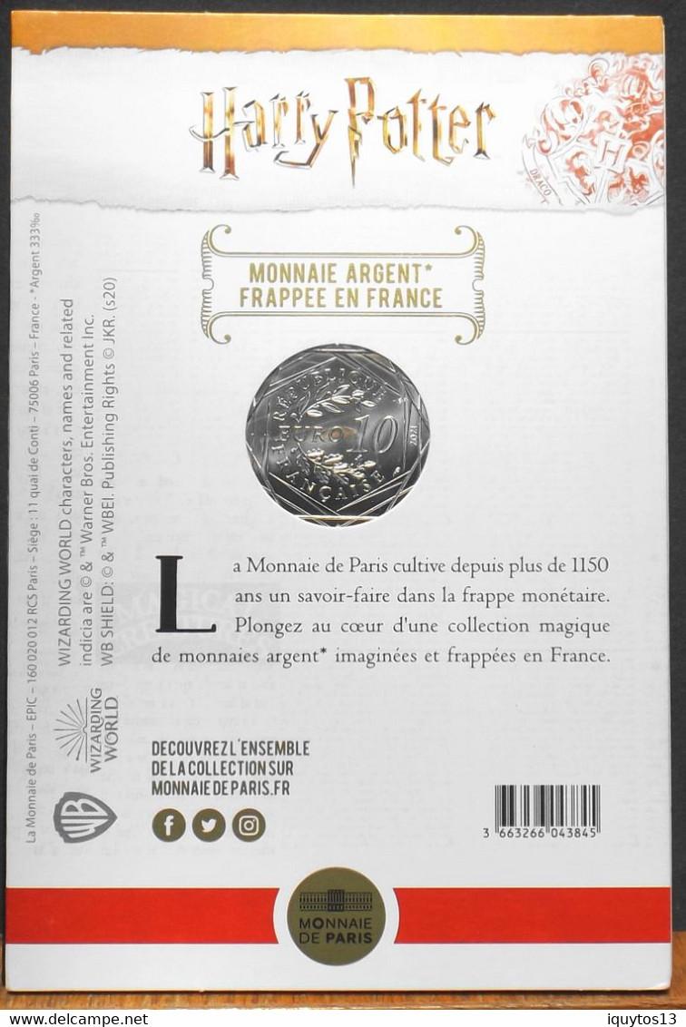Fr. - HARRY POTTER - Pièce De 10 Euro Argent N° 4/18 HARRY POTTER Et La CHAMBRE Des SECRETS - Neuve Sous Blister - France