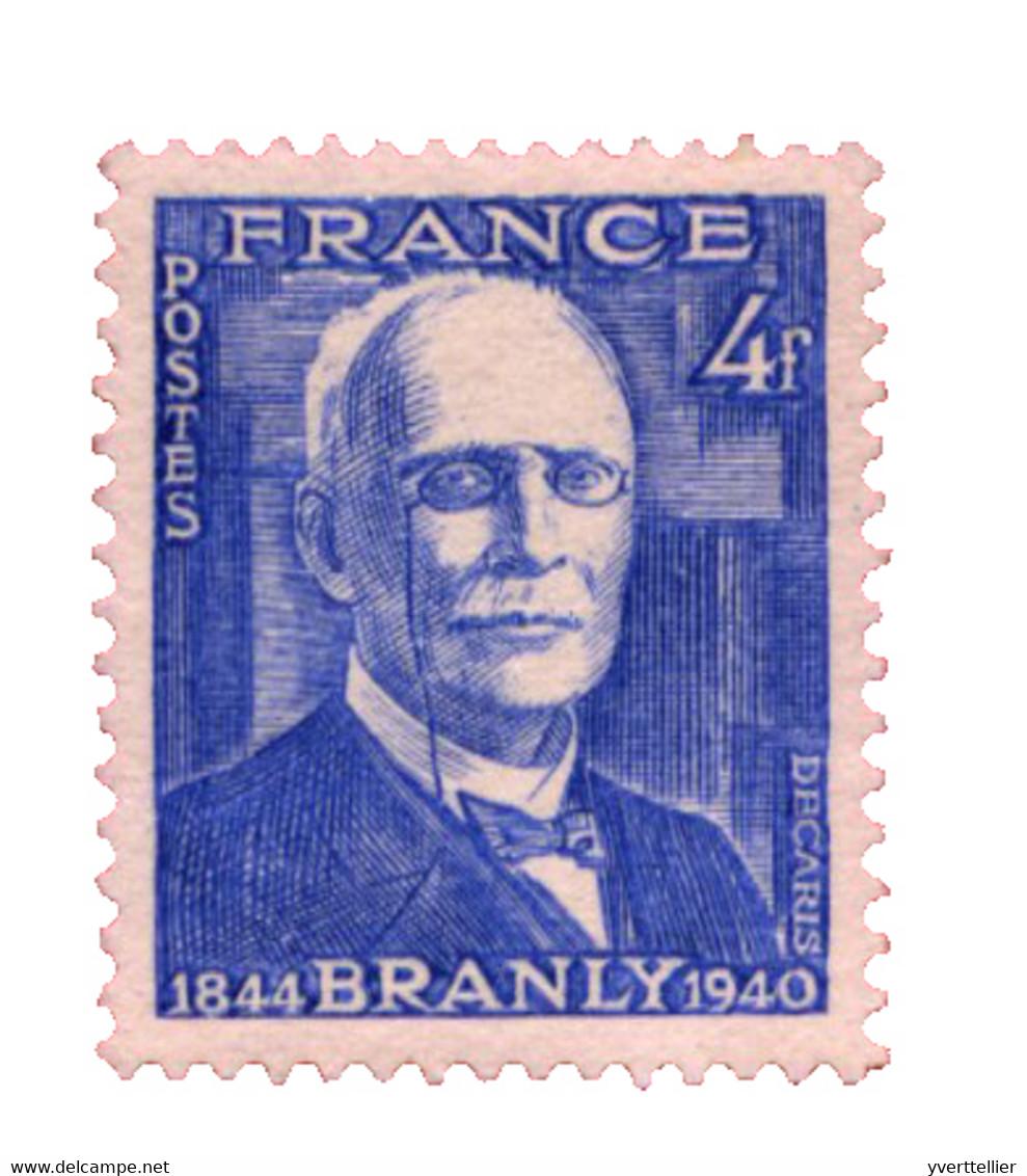 France  : N°599** - Unclassified