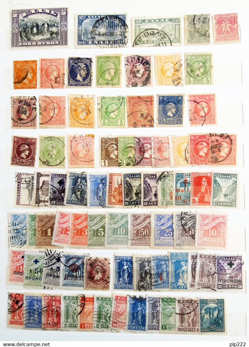 Grecia 1875/1970 Collezione Oltre 750 Val. / Collection Over 750 Val. O/*/Used/MH VF/F - Collections