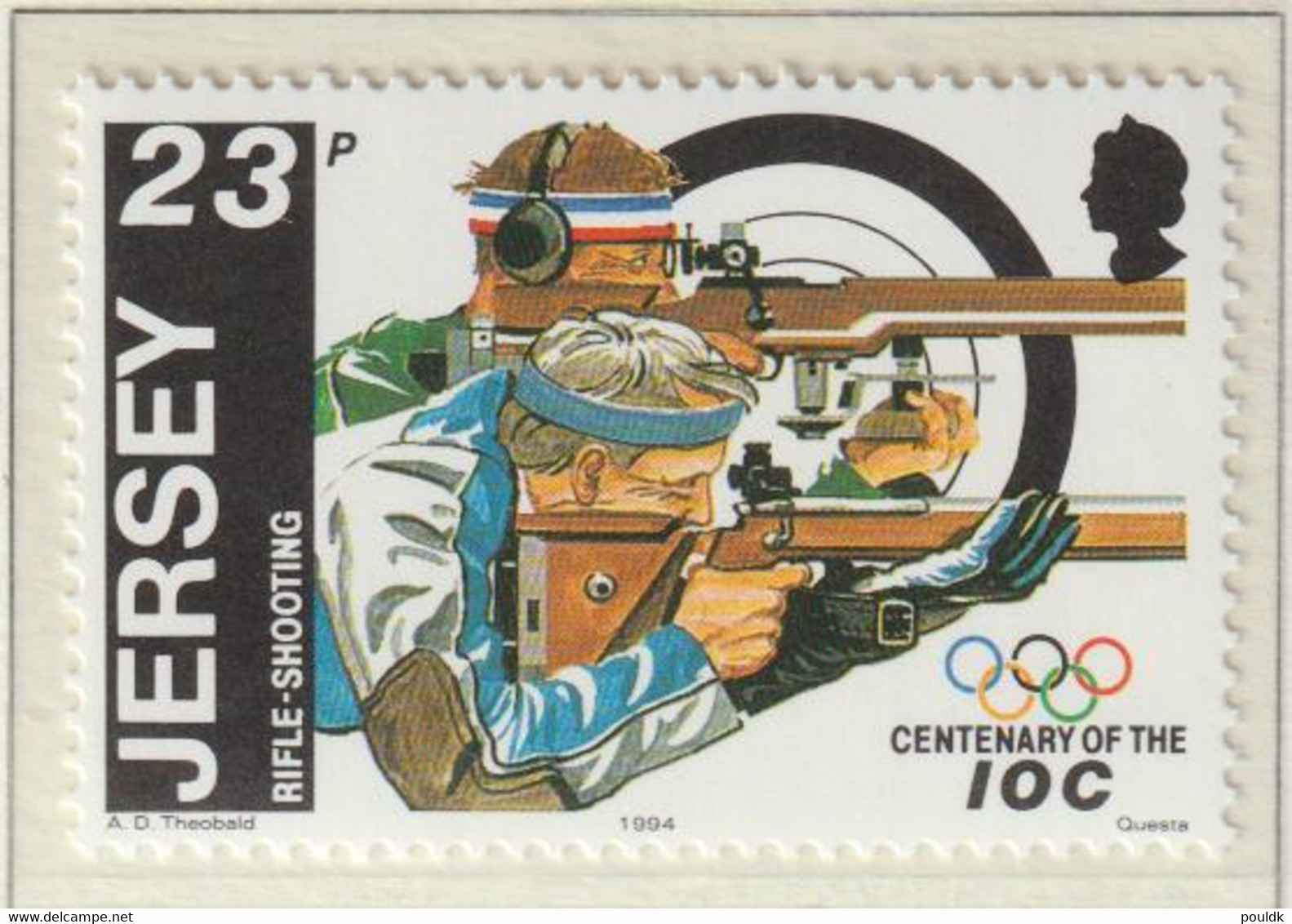 Jersey 1994 IOC Centenary Five Stamps MNH/** (H56) - Other
