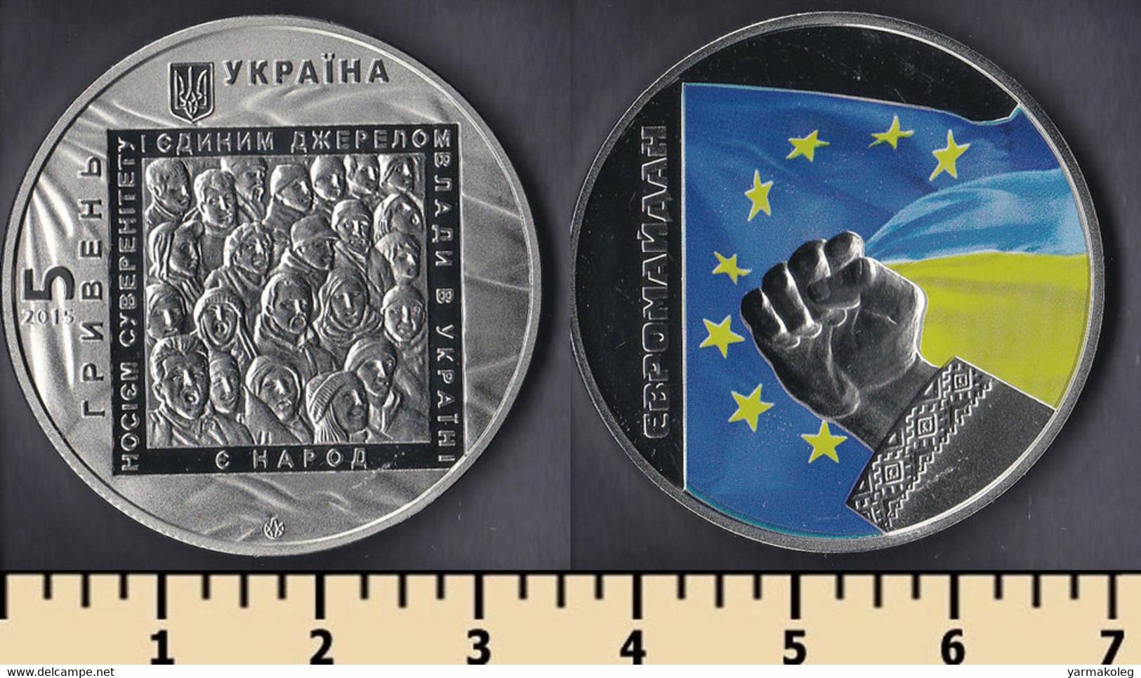 Ukraine 5 Hryven 2015 - Ukraine