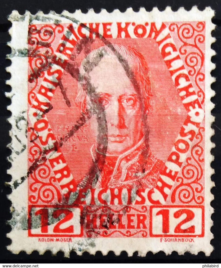 AUTRICHE                         N° 107                        OBLITERE - Used Stamps