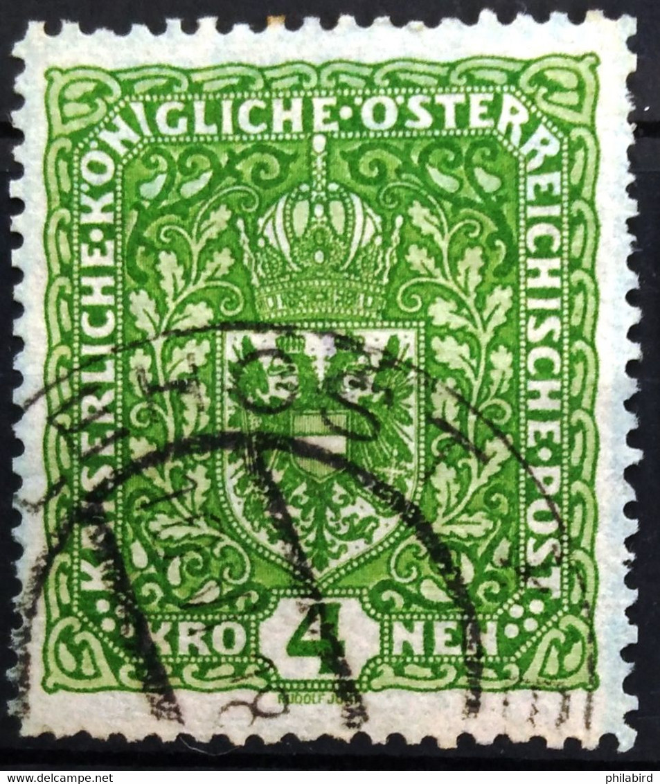 AUTRICHE                         N° 160                        OBLITERE - Used Stamps