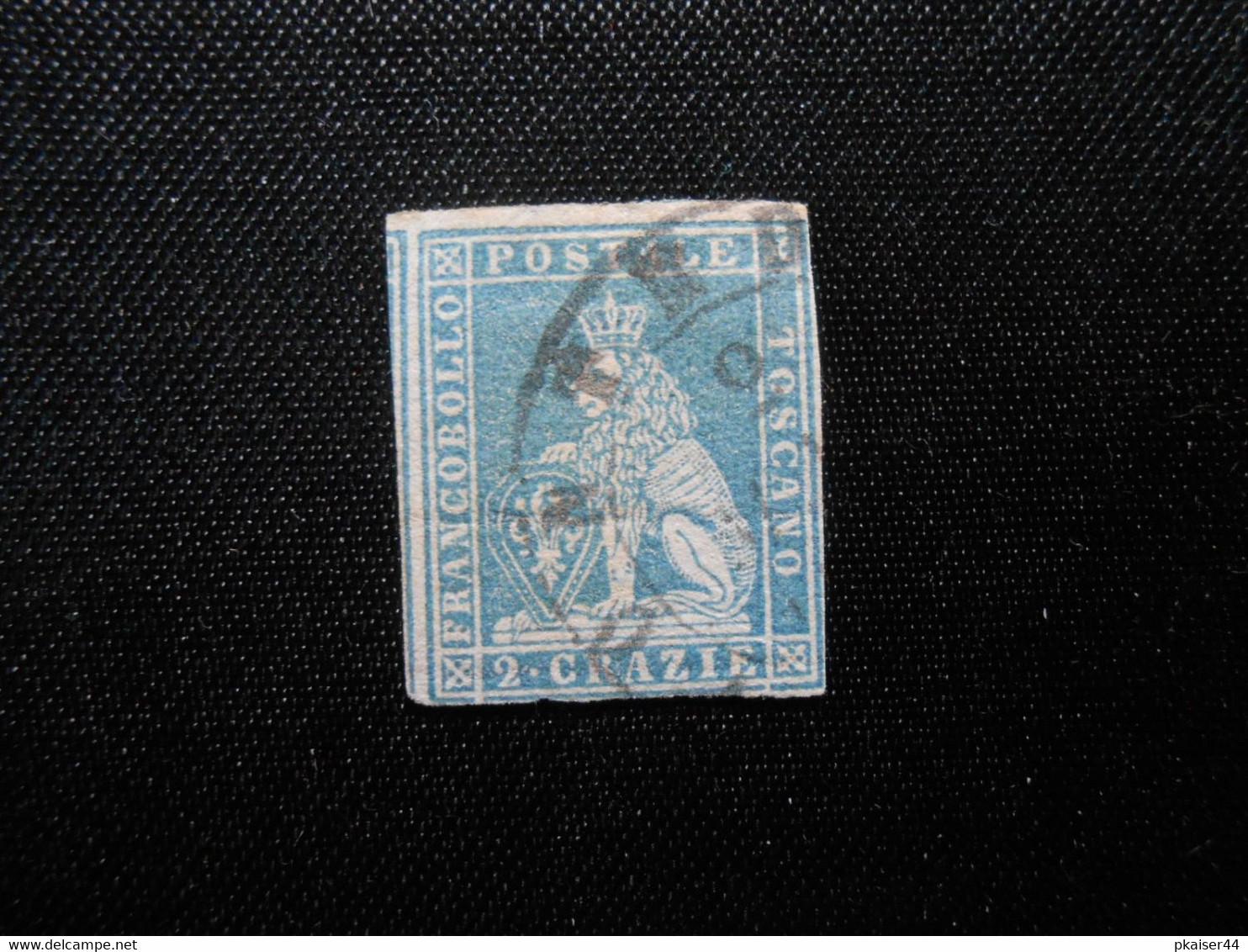 I Mi 5xb  2Cr - Italien - Toskana - 1851 - 170,00 € - Lot 560 - Toskana