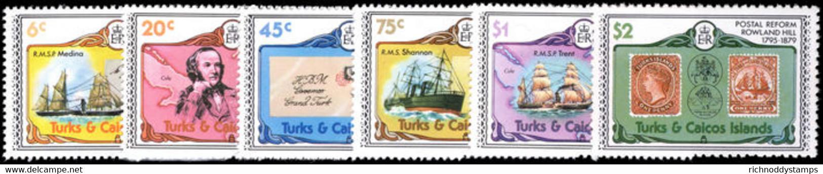 Turks & Caicos Islands 1979-80 Sir Rowland Hill Unmounted Mint. - Turks & Caicos