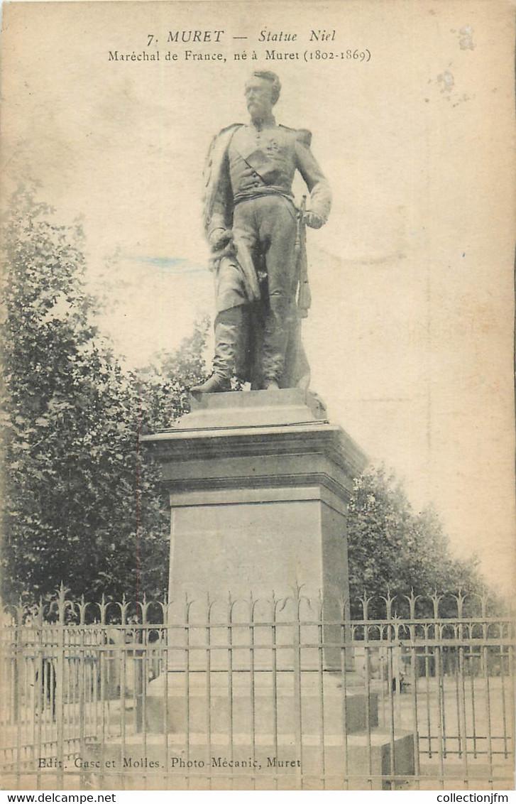 "CPA FRANCE 31 ""Muret, Statue De Niel"" - Other Municipalities"