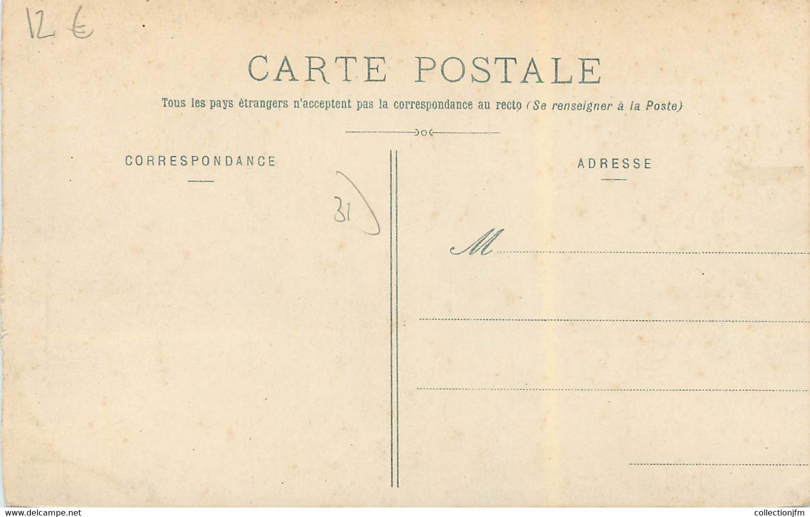 """CPA FRANCE 31 """"Chateau De Séguenville"""" - Other Municipalities"""