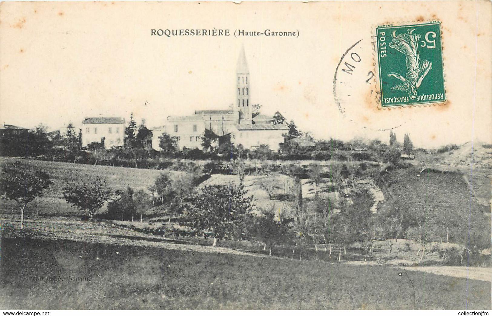 "CPA FRANCE 31 ""Roquesserière"" - Sonstige Gemeinden"