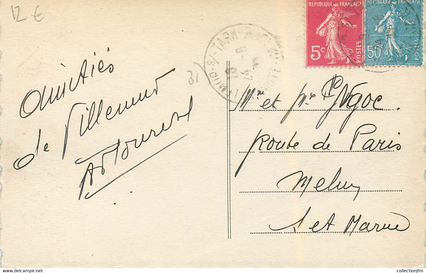 """CPA FRANCE 31 """"Villemur"""" - Other Municipalities"""