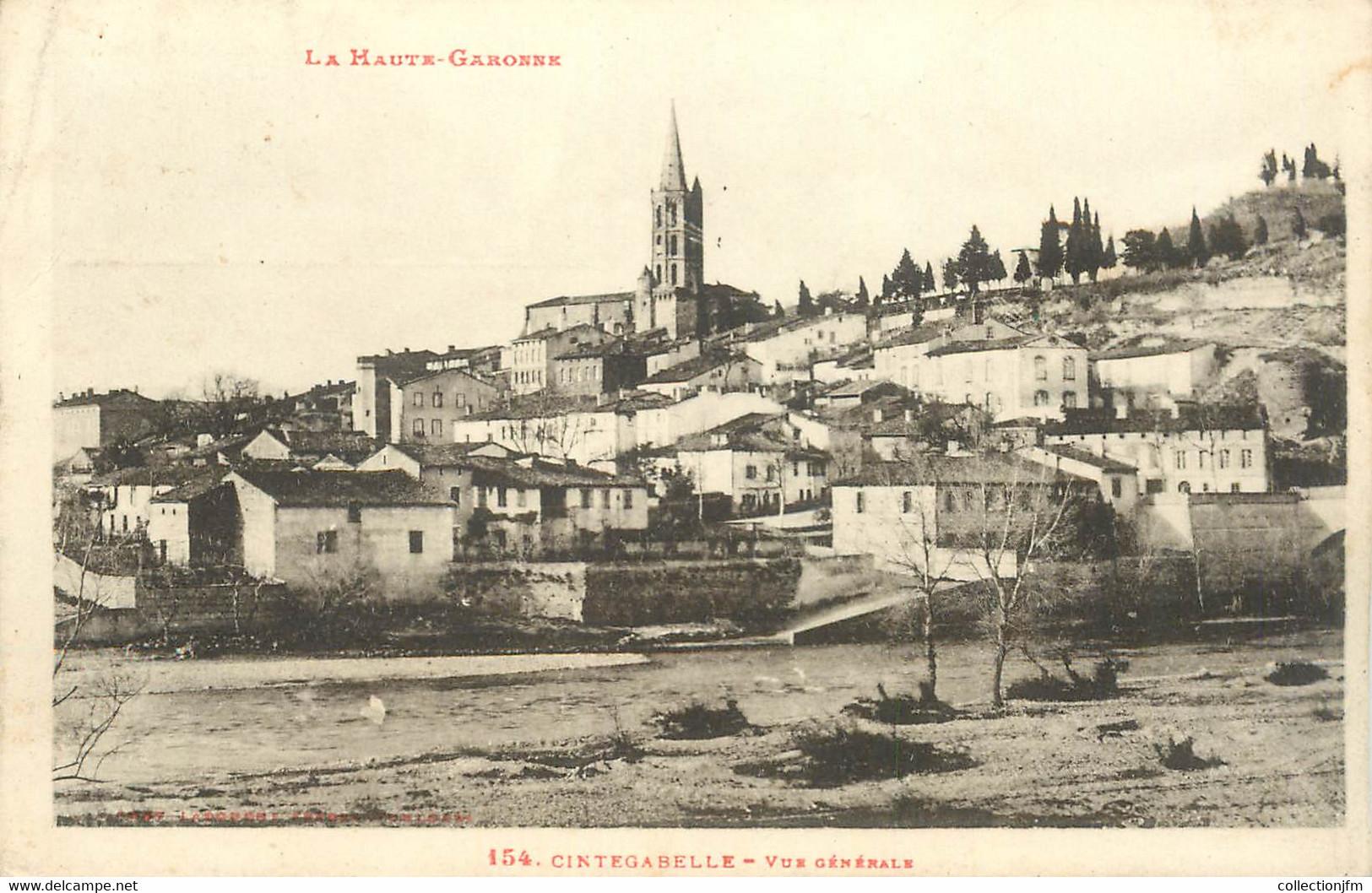 "CPA FRANCE 31 ""Cintegabelle"" - Other Municipalities"