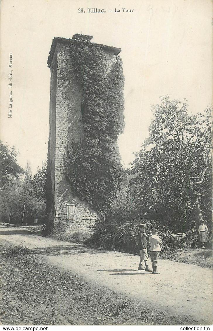 "CPA FRANCE 31 ""Tillac, La Tour"" - Other Municipalities"
