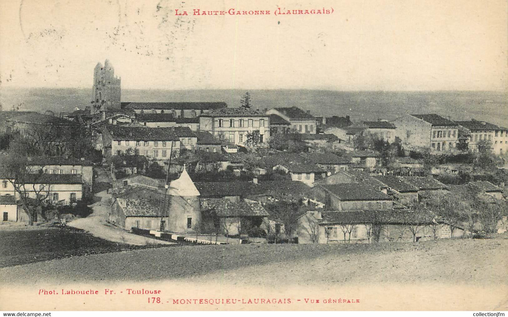 "CPA FRANCE 31 ""Montesquieu Lauragais"" - Other Municipalities"