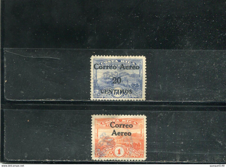 Costa Rica 1930-32 Yt 7 9 Timbres Pour La Poste Aérienne - Costa Rica