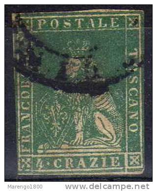 Toscana 1857 - 4 Crazie         (g1553) - Toskana