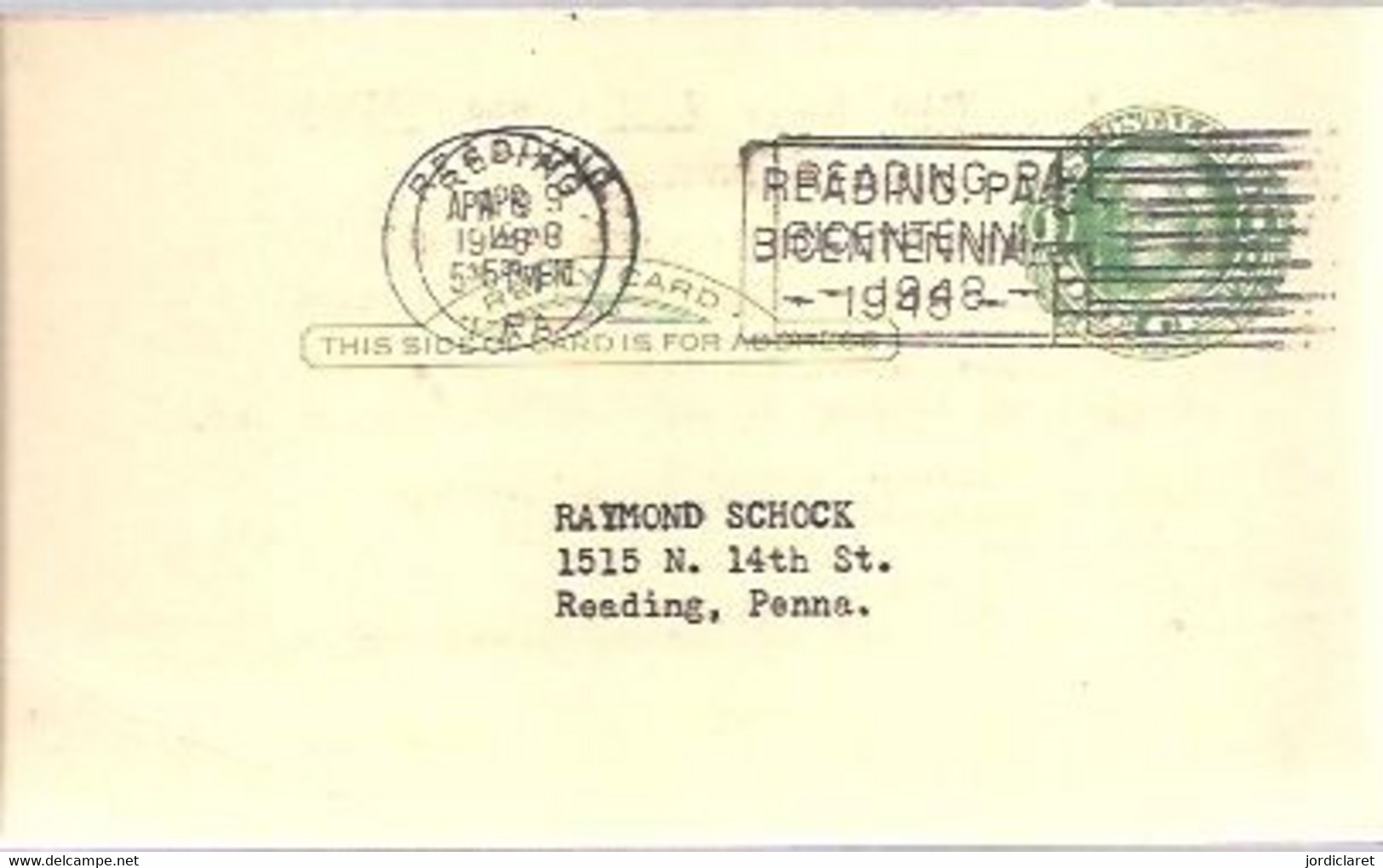 STATIONERY 1948 - 1941-60