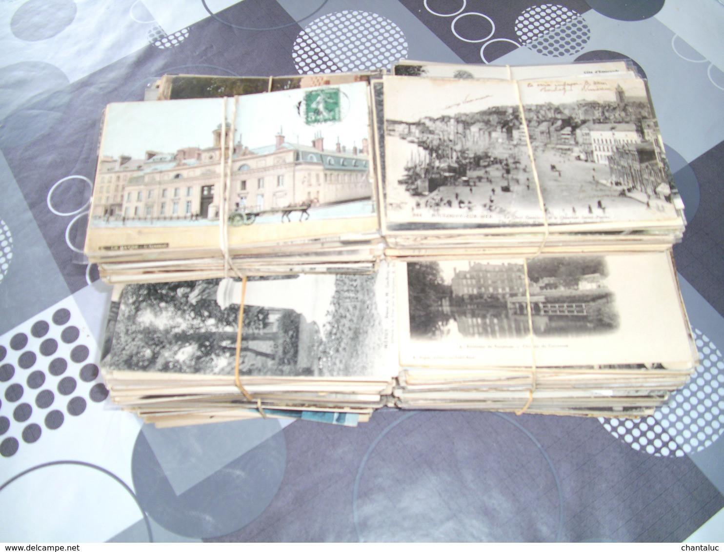 Lot 1000 CPA Différentes De France - 500 Postcards Min.