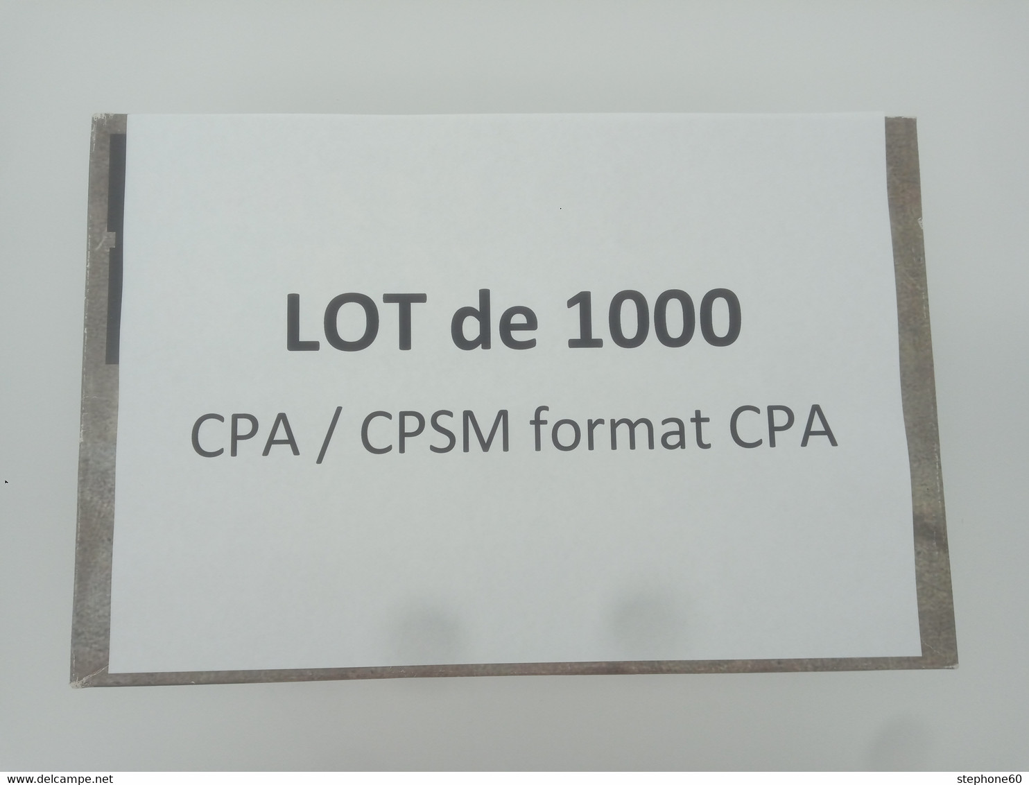 1lo - A460 ALSACE LOT 1000 CPA / CPSM Format CPA BAS RHIN Dep 67 Et HAUT RHIN Dep 68 ( 70% De Bas Rhin ) - 500 Postcards Min.