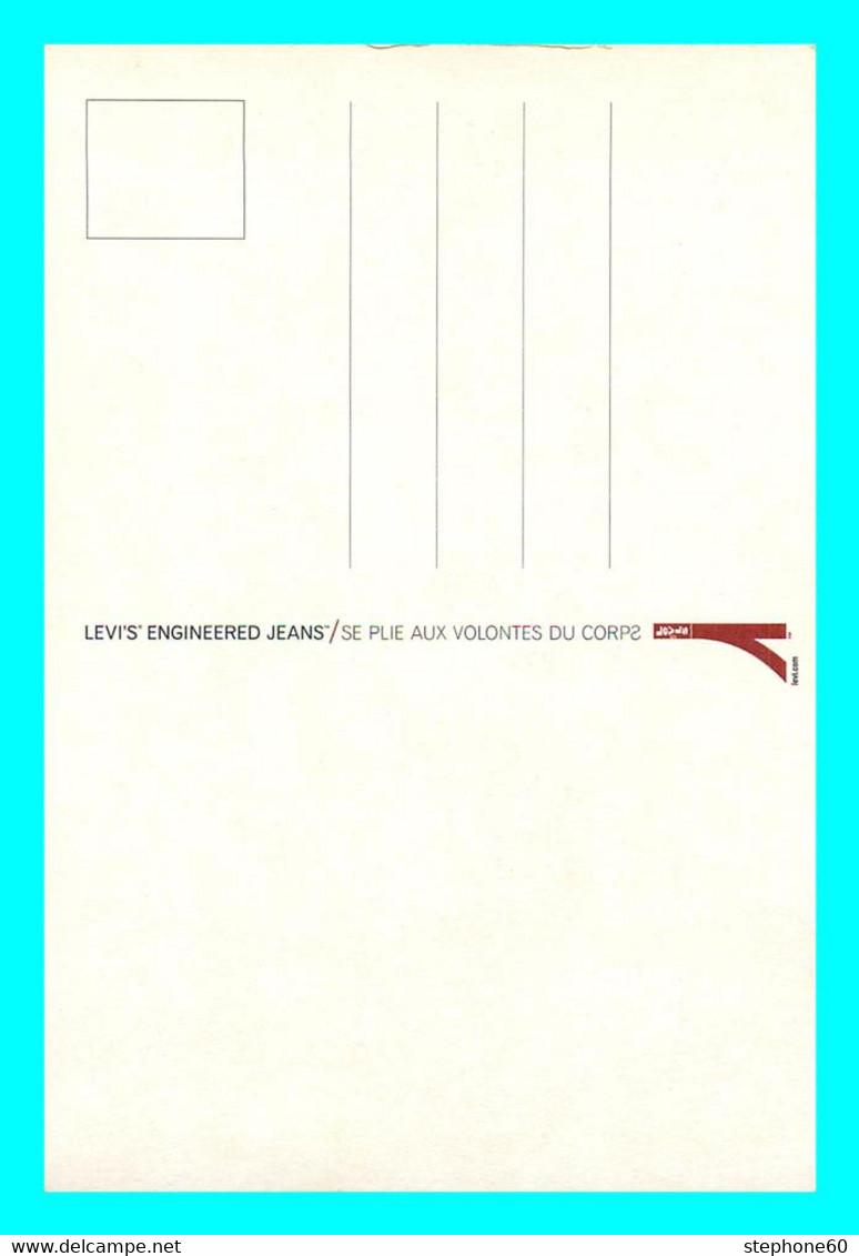 A757 / 481 Carte Pub LEVI'S Engineered Jeans ( Femme ) - Publicidad
