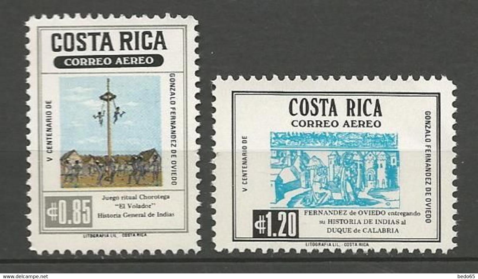 COSTA RICA PA Yvert N° 716 Et 717 NEUF** SANS CHARNIERE / MNH - Costa Rica