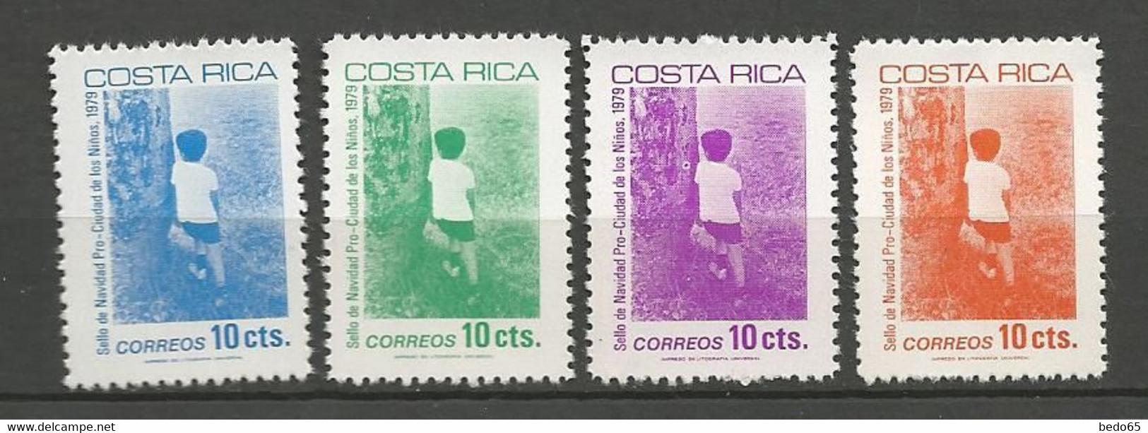 COSTA RICA  Yvert N° 340 à 343 NEUF** SANS CHARNIERE / MNH - Costa Rica