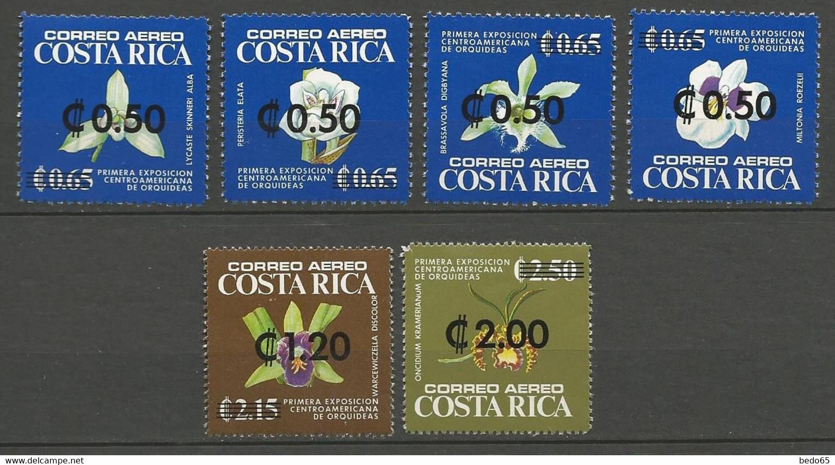COSTA RICA PA Yvert N° 707 à 712 NEUF** SANS CHARNIERE / MNH - Costa Rica