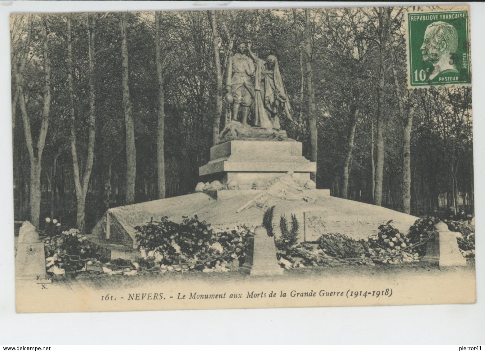 NEVERS - Le Monument Aux Morts - Nevers