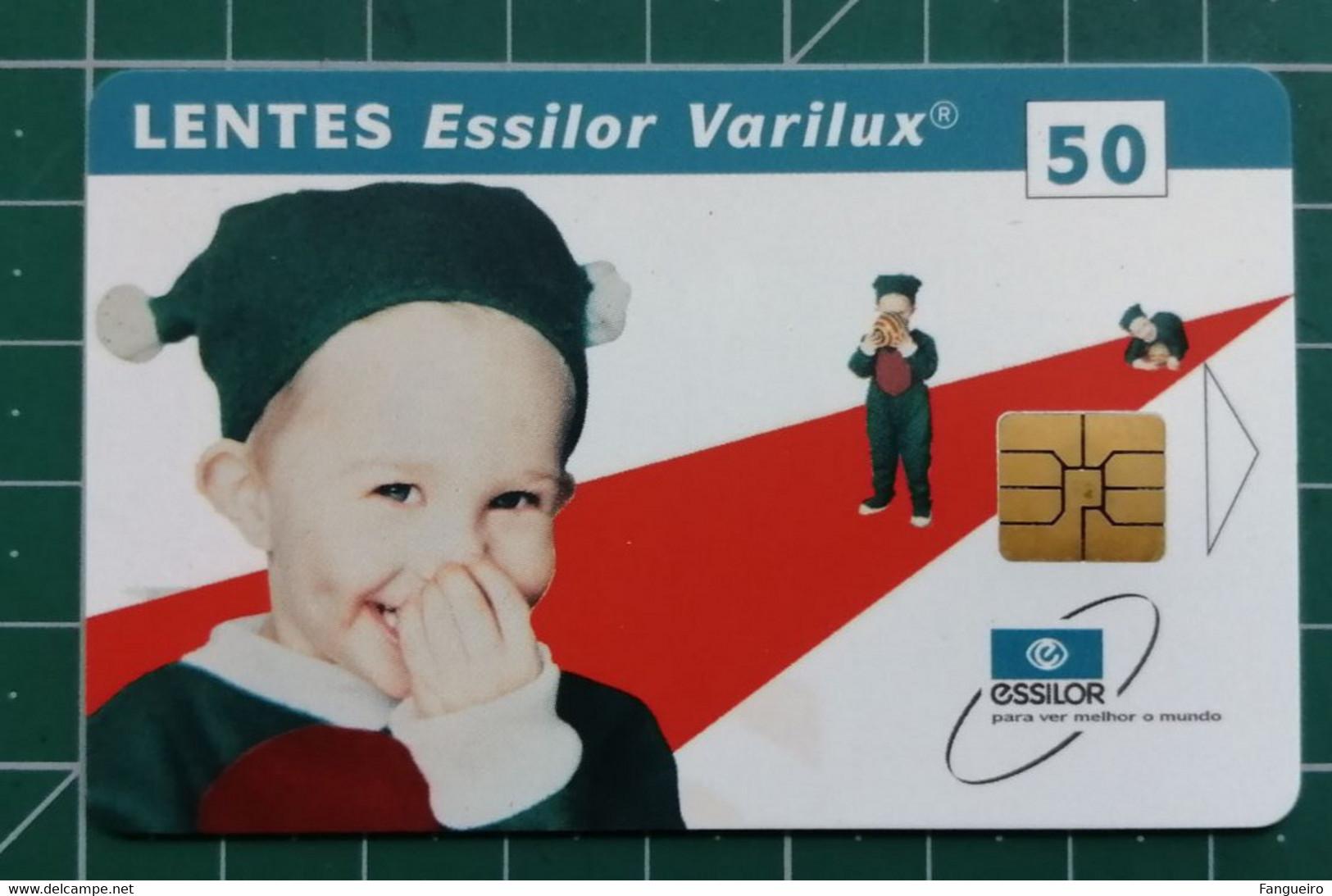 PORTUGAL Phonecard Lentes Essilor MINT - Sin Clasificación