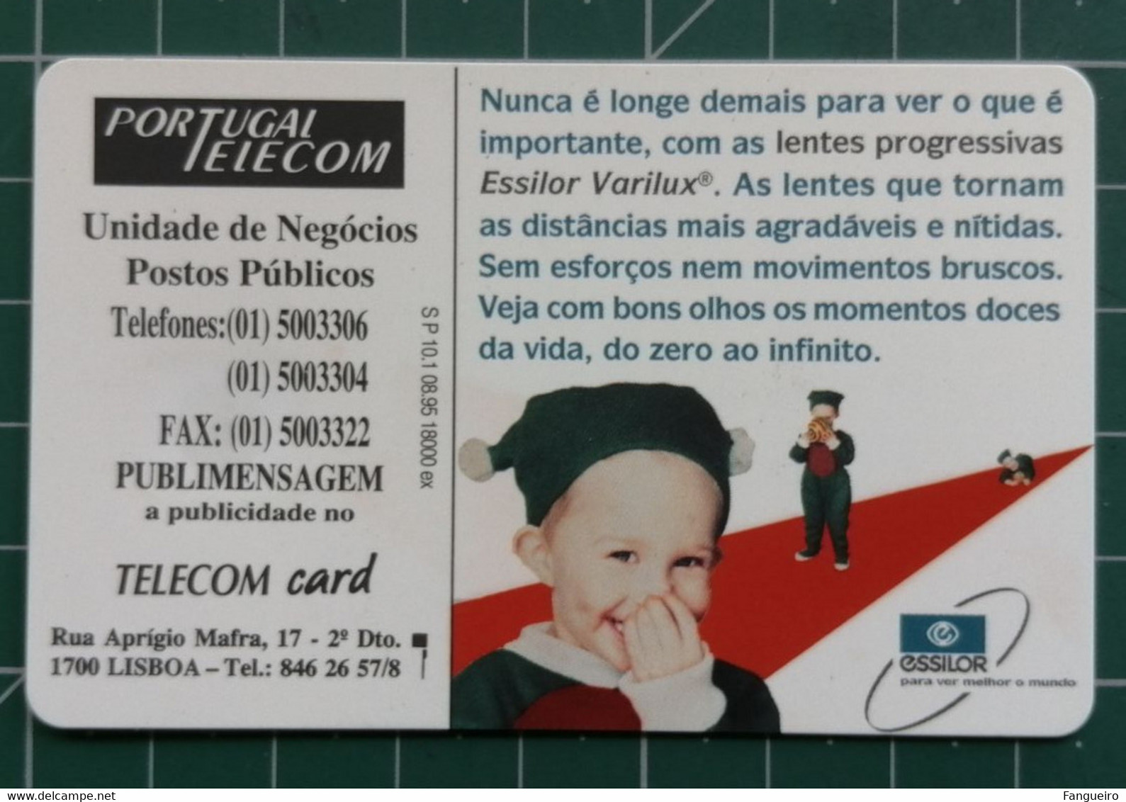 PORTUGAL Phonecard Lentes Essilor MINT - Unclassified