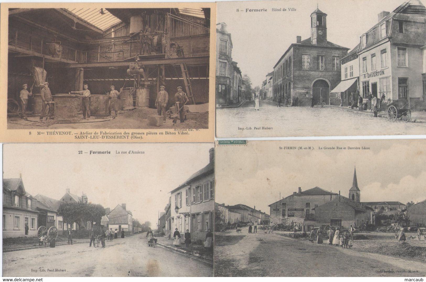 BEAU LOT De 60 CPA France - Départements Divers - Quelques Scans - 5 - 99 Postcards