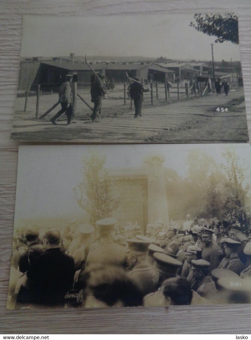 57 Carte Photo CAMP De Prisonniers CASSEL (Allemagne) Même Origine , GUERRE - War 1914-18