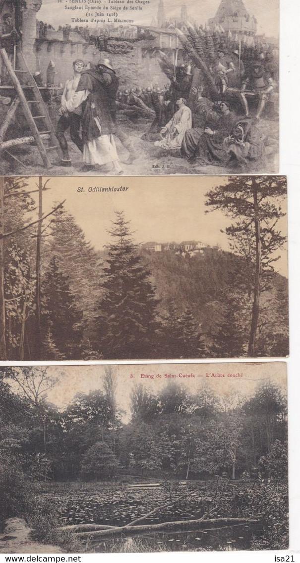 Lot De 40 Cartes Postales CPA: FRANCE, De La Petite Carte, Cartes Scannées. - 5 - 99 Postcards