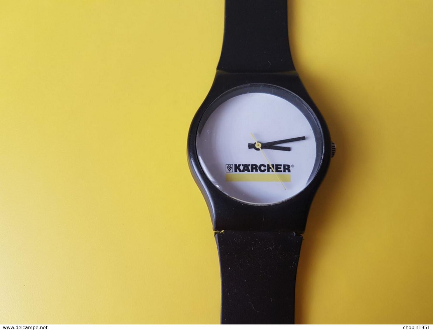 MONTRE PUBLICITAIRE - KARCHER - Advertisement Watches